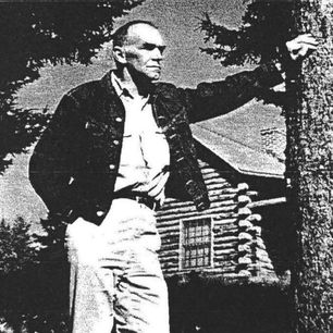 Real Log Homes founder Jesse Ware